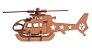 Quebra-Cabeça 3D Helicóptero 23 Peças - Imagem 2