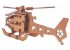 Quebra-Cabeça 3D Helicóptero 23 Peças - Imagem 3