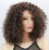 Lace front wig curta cacheada - Várias cores - Imagem 2