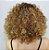 Lace front wig curta cacheada - Várias cores - Imagem 3