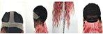 Peruca Lace front wig cacheada rose gold -  Talita - 75cm  - Imagem 5