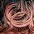 ULTIMA PEÇA Peruca Lace Front Cacheada cor de rosa - repicada 60cm  - Imagem 5