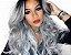 Peruca Lace front wig cacheada platinada - PRONTA ENTREGA - Imagem 1