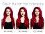 Aplique tic tac 100% humano Remy -10 peças - 160g - 55cm - varias cores - Encomenda - Imagem 1