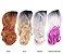 Wig peruca sintética  60cm  lisa com cachos -  Lya - Ombrê hair - Varias cores - Encomenda - Imagem 10