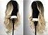 LANÇAMENTO  Peruca wig ondulada com repartição ao meio - Loira 60cm - LIZ - Imagem 2