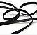 Elástico Chato 5mm - Preto - 10 metros - Imagem 1