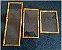 Bandeja Jericoacoara M em bambu com Vidro retangular, vidro resistente 41X20 - Imagem 1