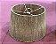 Pendente cone ou cúpula M em palha natural 35x45x25 cm - Imagem 2