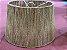 Pendente cone ou cúpula M em palha natural 35x45x25 cm - Imagem 3