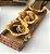 Porta baguete em vime e aplique caju em cerâmica 42x15 cm. - Imagem 1