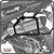 Suporte de baú lateral BMW F800R 10> SCAM - Imagem 1