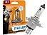 Lâmpada Farol Philips H4 60/55W Motovision - Imagem 1