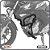 Protetor de Motor Carenagem CB TWISTER 250 16> C/PEDALEIRA - Imagem 1