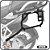 Suporte de baú lateral BMW R1200GS 13> SCAM - Imagem 1