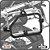 Suporte de baú lateral BMW R1200GS ADVENTURE 13> SCAM - Imagem 1