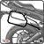 Suporte de baú lateral YAMAHA MT09 TRACER 15> SCAM - Imagem 1