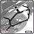 Suporte de baú lateral YAMAHA R3 15> SCAM - Imagem 1