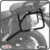 Suporte de baú lateral YAMAHA SUPER TENERE 1200 11> SCAM - Imagem 1