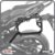 Suporte de baú lateral YAMAHA TRACER 900 GT 20>SCAM - Imagem 1