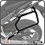 Suporte de baú lateral HONDA CBR650F 15> SCAM - Imagem 1