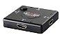 Hub Switch HDMI Com 3 Portas Para: Playstation Xbox Dvd Tv Lcd Led - Imagem 1