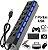 Cabo Hub USB Com 7 Portas 2.0 - LED Indicador De Energia  - Imagem 1