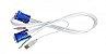 Cabo 4 em 1 para KVM USB para Chaveador Com 1,2M - Imagem 1