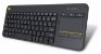 Teclado Logitech Wireless Touch Keyboard - K400 Plus - Imagem 1
