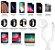 Carregador Sem Fio Para Apple Watch e Cabo Para Carregamento Iphone  - Imagem 4