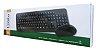 Teclado e Mouse Wireless Mtek KM1548 - Preto - Imagem 2