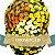 Coroa de Flores BR-10 Extra Grande Luxo - Imagem 1