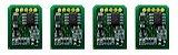 Kit 4 Chip para Okidata C6100 | C5700 | C5900 CMYK - Imagem 1