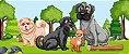Capa Banco Automotivo Impermeável Personalização Exclusiva Cães 9 - Imagem 3