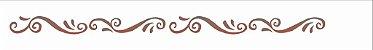 Stencil 4X30 Simples – Arabesco Barroco OPA 0763 - Imagem 2