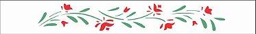 Stencil 4X30 Simples – Flores Papoulas OPA 0195 - Imagem 2