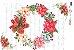 Papel para Decoupage de Natal  OPAPEL 30X45 Guirlanda – 2541 - Imagem 1