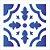Stencil 10×10 Simples – Ladrilho Coração – OPA 1345 - Imagem 1