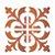 Stencil 14×14 Simples – Ladrilho Medieval – OPA 1736 - Imagem 1