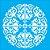 Stencil 30,5×30,5 Simples – Mandala III Camada II – OPA 2300 - Imagem 2