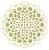 Stencil 30,5×30,5 Simples – Mandala Flor – OPA 2097 - Imagem 1