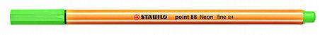 Caneta Stabilo 15 Cores (5 Neon) Ponta Fina 0.4mm Point 88 - Imagem 2