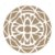 Stencil Simples 30,5 x 30,5 Mandala 1 Camada 1 - Opa 2295 - Imagem 1