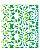 Stencil 20X25 Simples Renda Arabesco - Opa 2635 - Imagem 1