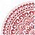 Stencil 30,5X30,5 – Mandala GR Coração - OPA 2593 - Imagem 1