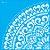 Stencil 30,5X30,5 – Mandala GR Coração - OPA 2593 - Imagem 2