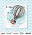 Papel Scrapbook 180g OPA 15x15 cm - OPACARD 2750 Balões 2 - Imagem 1