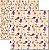 Papel Para Scrapbook Dupla Face 30,5x30,5 cm Arte Fácil - SC-323 Paris Shabby 3 - Imagem 1