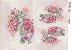 Papel Decoupage 30x45 cm OPAPEL 2374 - Chá Com Flores - Imagem 1