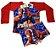 Blusa Uv + Sunga Infantil Proteção Solar Fator 50 Kit - Homem Aranha 1 - Imagem 1